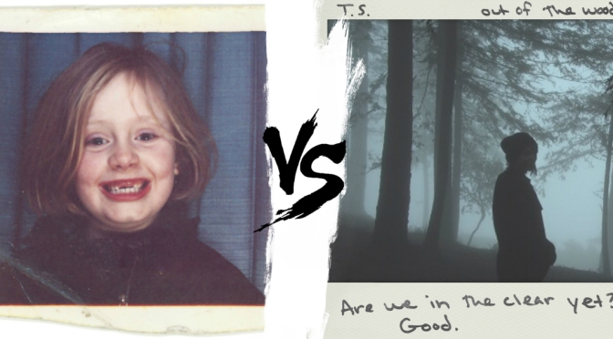 [Tournament] Round 8: Adele vs. Taylor Swift